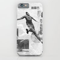 iPhone & iPod Case featuring Didier Drogba Underwater Highlight Tape DVD-RW by Young Weirdos Guild