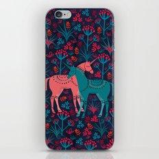 Unicorn Land iPhone & iPod Skin