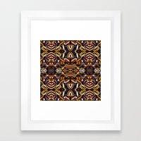 Angle Land Extrapolated Framed Art Print