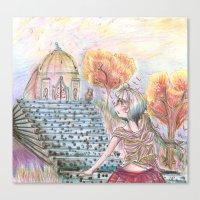 Fantasy of Colors Canvas Print