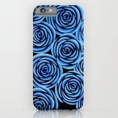 Flowers at Midnight iPhone 6 Slim Case