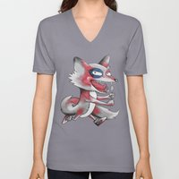 Hungry Fox Unisex V-Neck