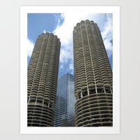 chicago (one) Art Print