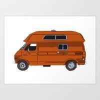 Rico's Van Art Print