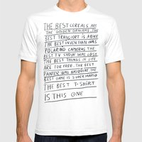 The Best Title Is This O… Mens Fitted Tee White SMALL