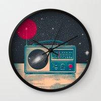 Space Radio Wall Clock
