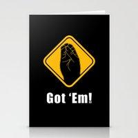 Got 'Em! Stationery Cards