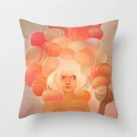 Glow Throw Pillow