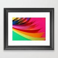 Framed Art Print featuring In The Flow (Happy New Y… by Joke Vermeer
