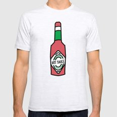 Hot Sauce In My Bag Swag Mens Fitted Tee Ash Grey SMALL