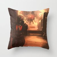 Reaper Scout Throw Pillow