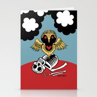 Búho De La Muerte Stationery Cards