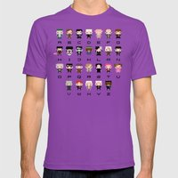 Harry Potter Alphabet Mens Fitted Tee Ultraviolet SMALL