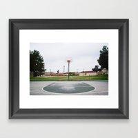 Basketball Sanctuary Framed Art Print