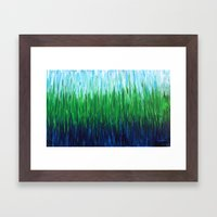 :: Sea Grass :: Framed Art Print