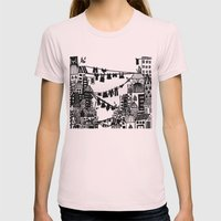 Home = Organised Chaos Womens Fitted Tee Light Pink SMALL