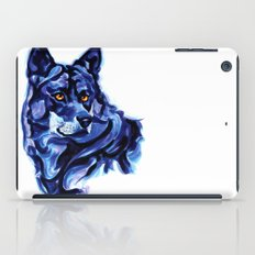 Blue Wolf iPad Case