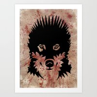Iron Wolf Art Print