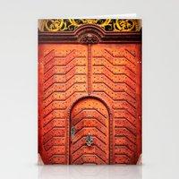 Doors Of Prague, No. 4 Stationery Cards