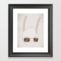 빠숑토끼 Fashiong To… Framed Art Print