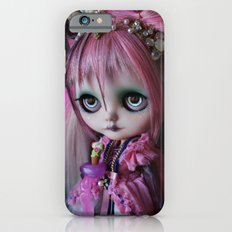 LITTLE OCTOPUS CUSTOM BLYTHE ART DOLL PINK NAVY iPhone 6 Slim Case