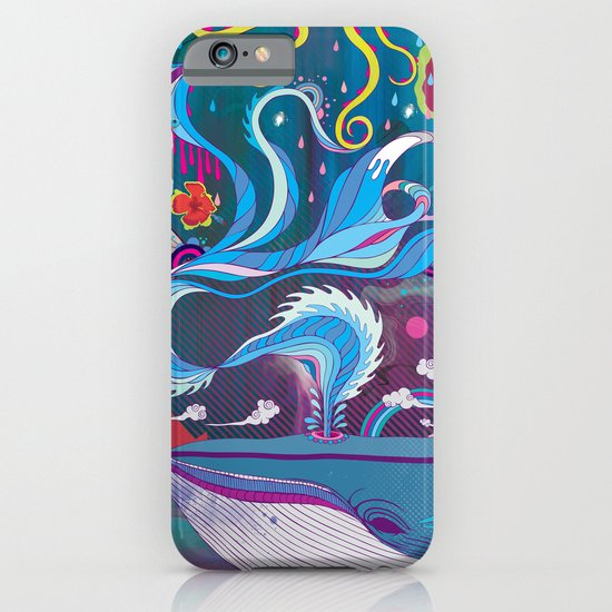Every Time a Whale Blows Their Spout, a New Dream is Born. iPhone & iPod Case