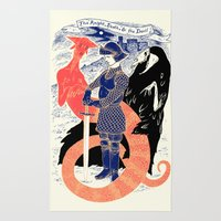The Knight, Death, & the Devil Rug