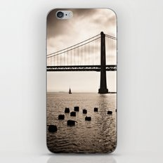 San Francisco, Bay Bridge iPhone & iPod Skin