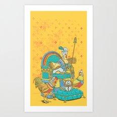Eleggance Art Print
