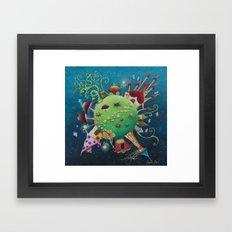 tales 's planet Framed Art Print