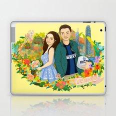 Custom illustration for a couple Laptop & iPad Skin