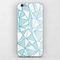 Abstraction Lines Waterc… iPhone & iPod Skin