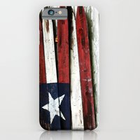 The Grand Ol' Wooden Flag iPhone 6 Slim Case