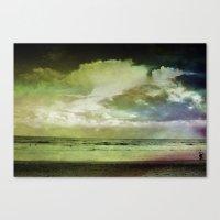 Occupy Beach Canvas Print