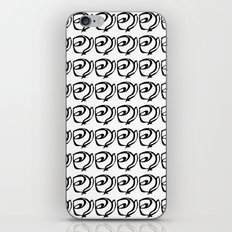 Rows of Flowers iPhone & iPod Skin