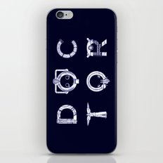 DOCTOR (Letters) iPhone & iPod Skin