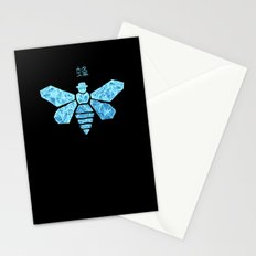Chemical Blue Stationery Cards