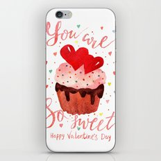 Valentines Day Lettering… iPhone & iPod Skin