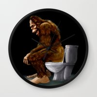 Bigfoot Breaks Into Some… Wall Clock