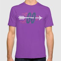 GO Mens Fitted Tee Ultraviolet SMALL