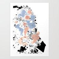 San Francisco Crime Map Art Print