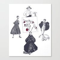 Balenciaga Rules OK! Canvas Print