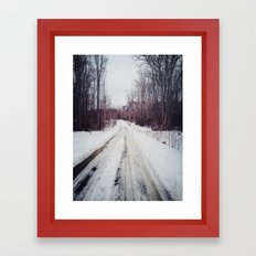 explore Framed Art Print