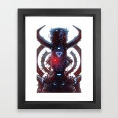 Electric Queen Framed Art Print