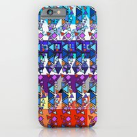 iPhone & iPod Case featuring Rhapsody in Triangles by gretzky