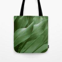 King Sugar Bush - King Protea - Leaves Green Tote Bag