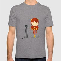My Camera Hero! Mens Fitted Tee Tri-Grey SMALL