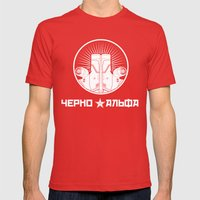 Cherno Alpha Mens Fitted Tee Red SMALL