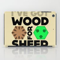 Wood For Sheep (Catan Se… iPad Case