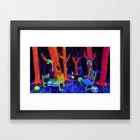 Bump In The Night Framed Art Print